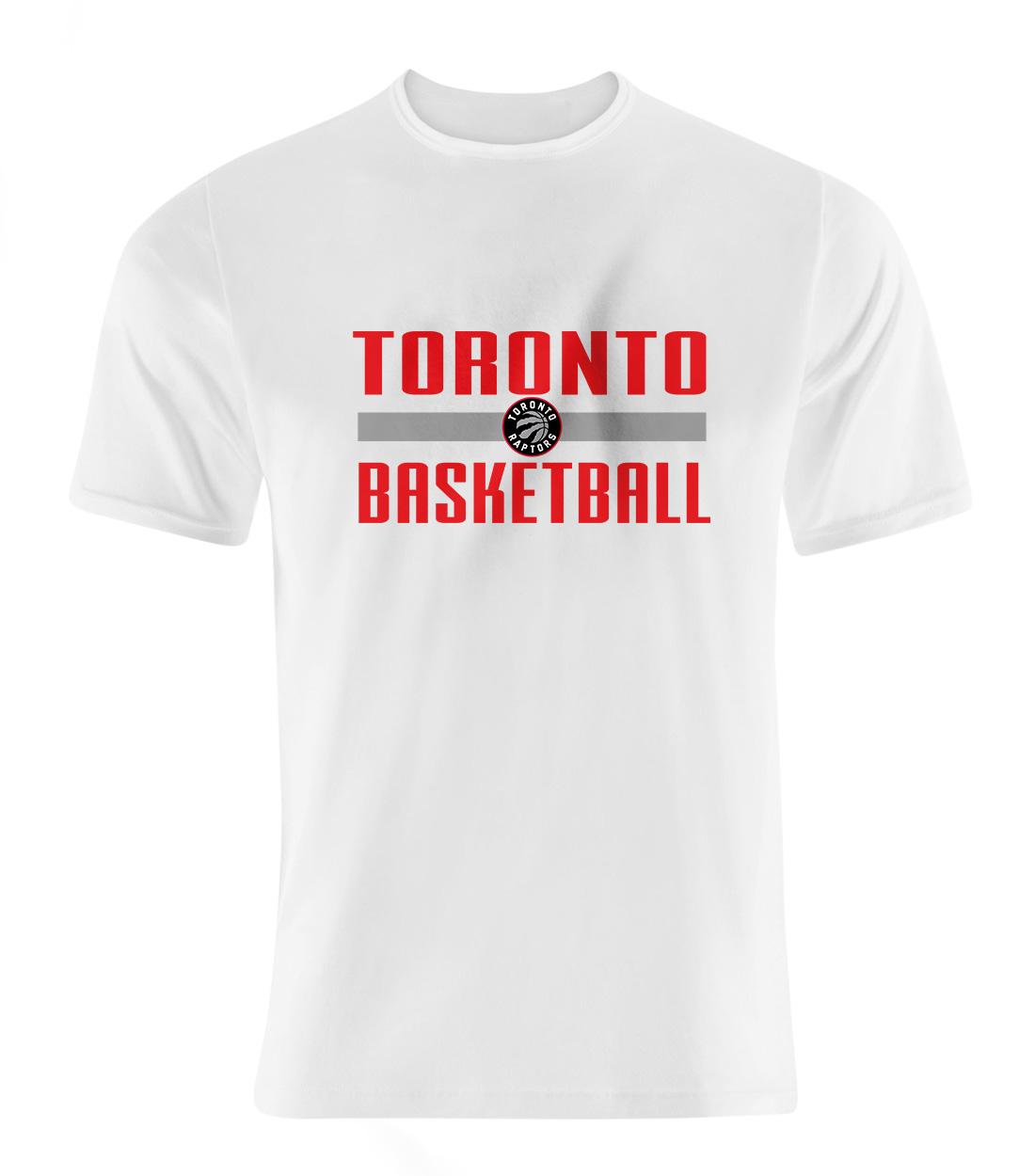 Toronto Basketball Tshirt (TSH-WHT-SKR-torontobsktbll-539)