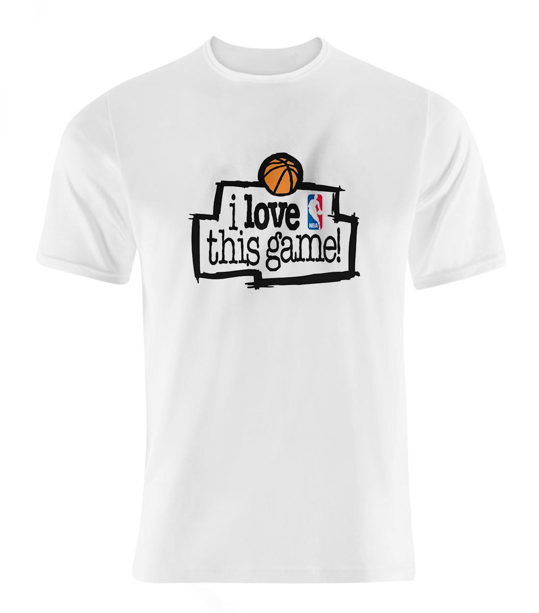 I Love This Game Tshirt (out-TSH-WHT-370-lovethis01)