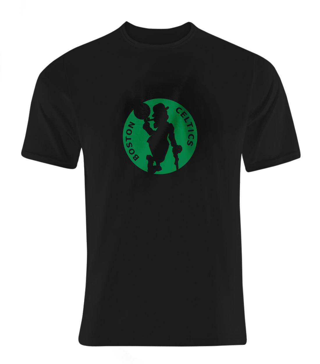Boston Celtics Tshirt (TSH-BLC-NP-35-NBA-BSTN-LOGO.2)