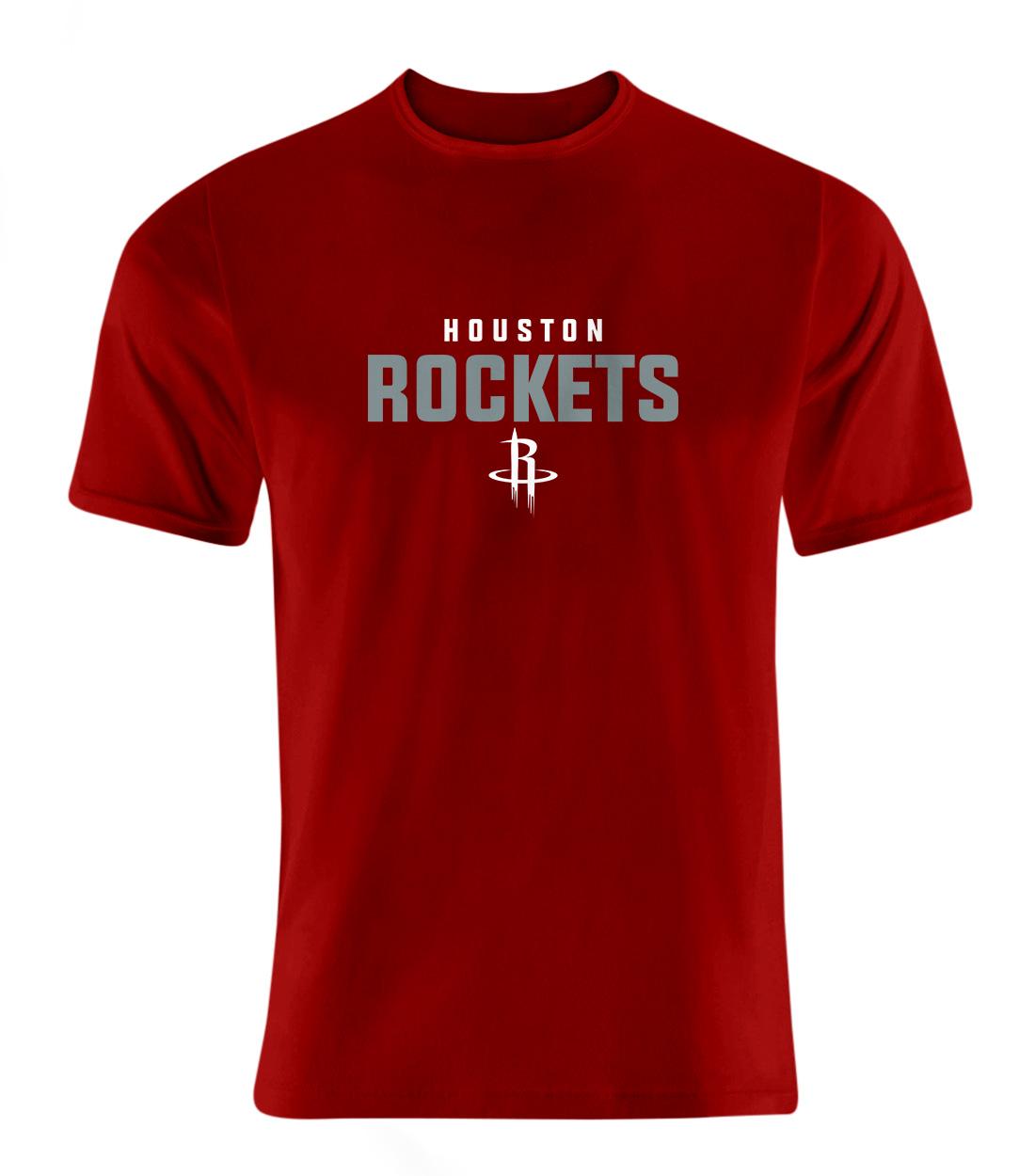 Houston Rockets Tshirt (TSH-RED-NP-108-NBA-HOU-ROCKETS.FLAT)