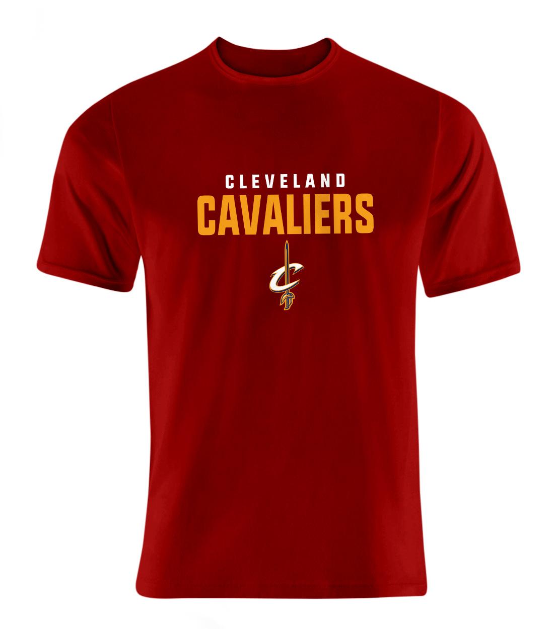 Cleveland Cavaliers Tshirt (TSH-RED-NP-62-NBA-CLE-CAVS.FLAT)