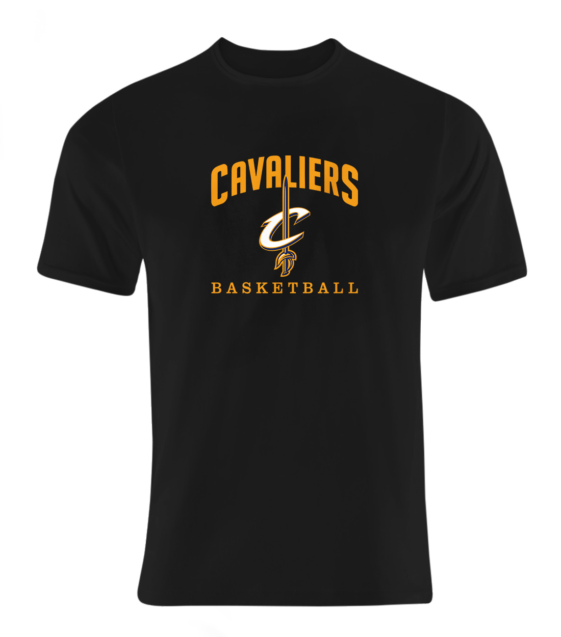 Cleveland Cavaliers Tshirt (TSH-BLC-NP-61-NBA-CLE-CAVS.ARCH)