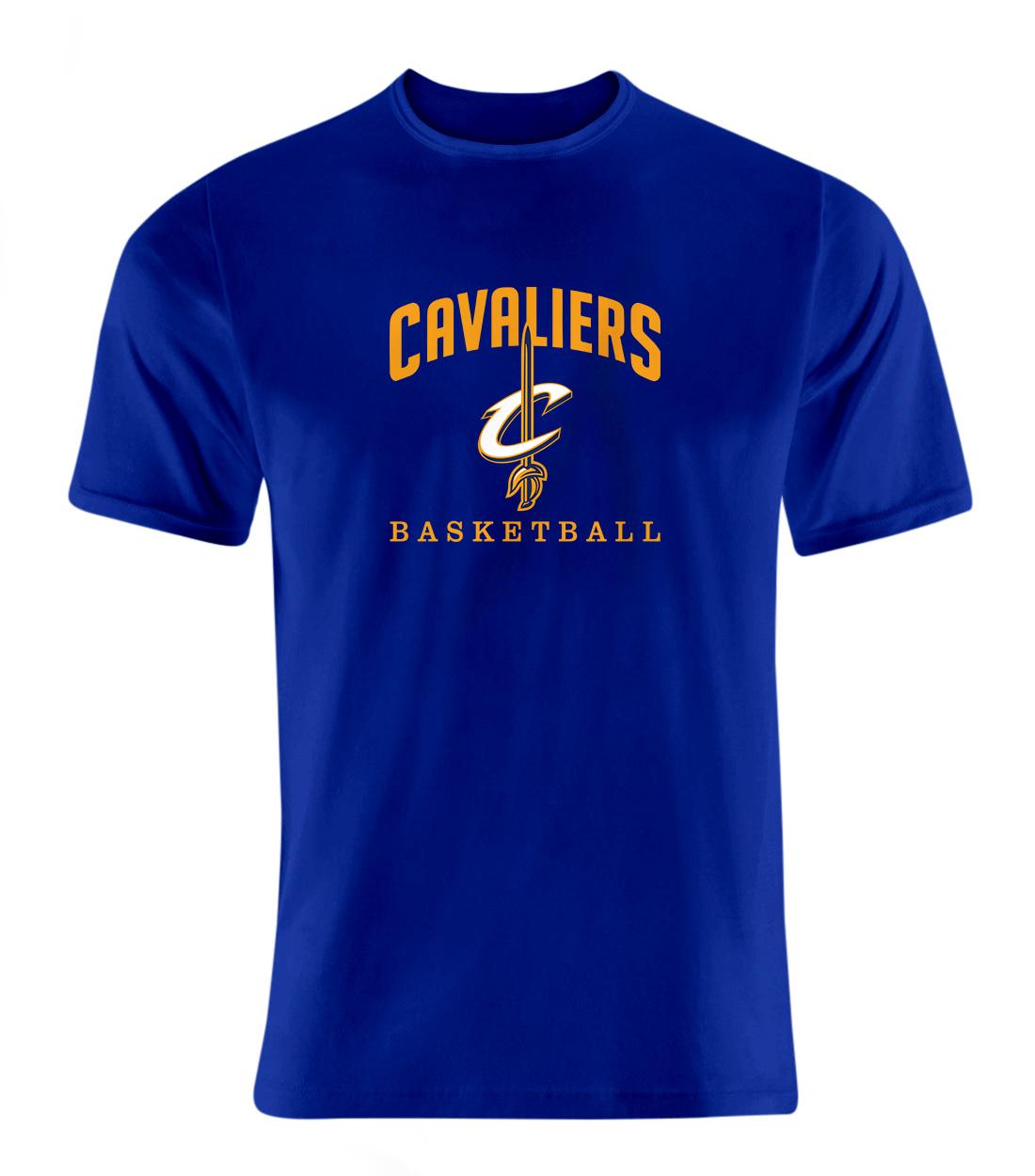 Cleveland Cavaliers Tshirt (TSH-BLU-NP-61-NBA-CLE-CAVS.ARCH)