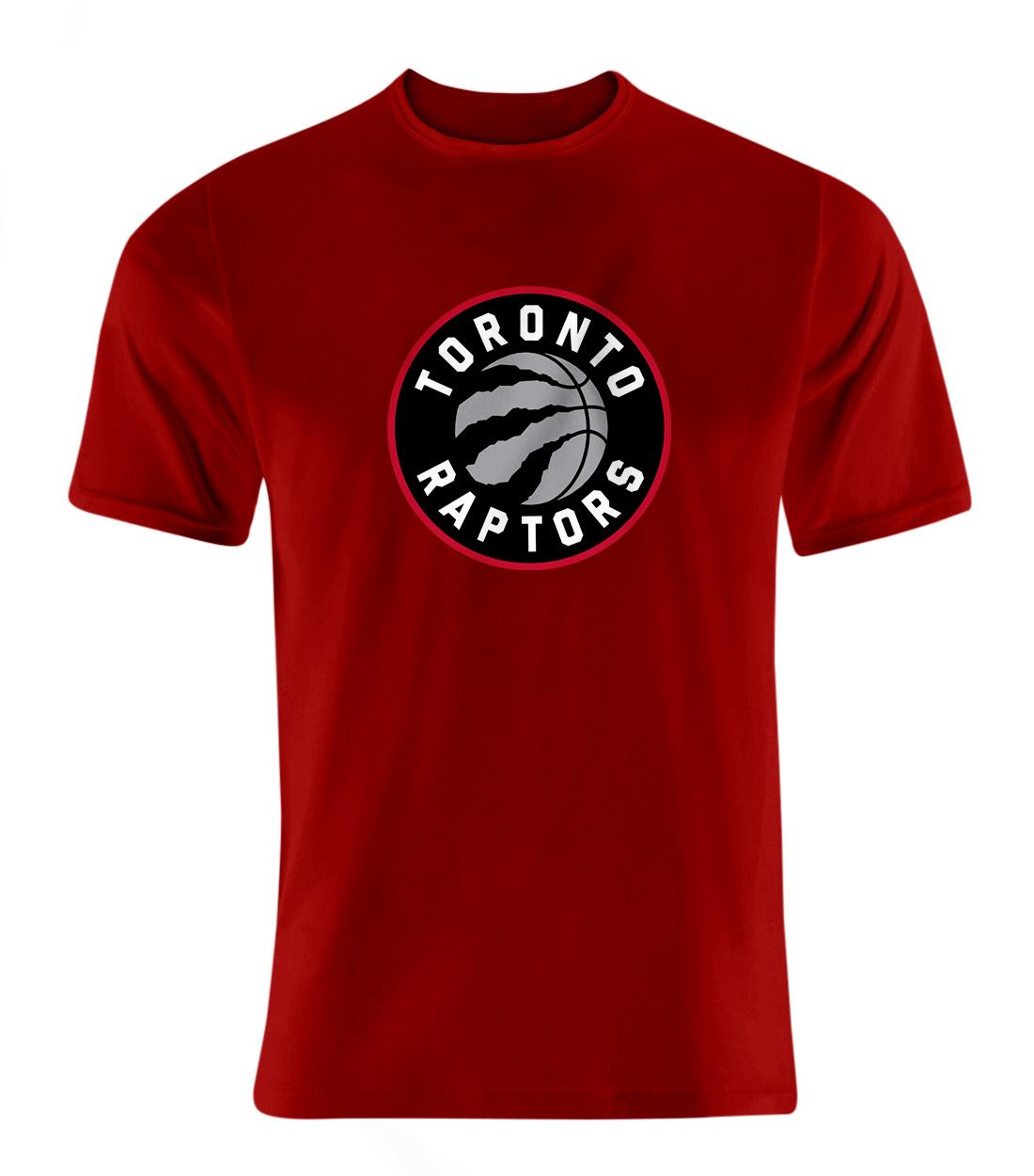 Toronto Raptors Tshirt (TSH-RED-NP-197-NBA-TOR-LOGO)