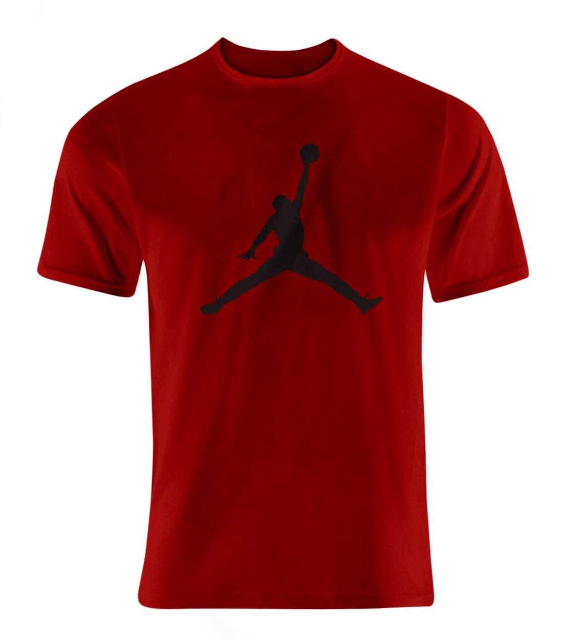 Air Jordan Tshirt (TSH-RED-NP-4-PLYR-JRDN-SYH)