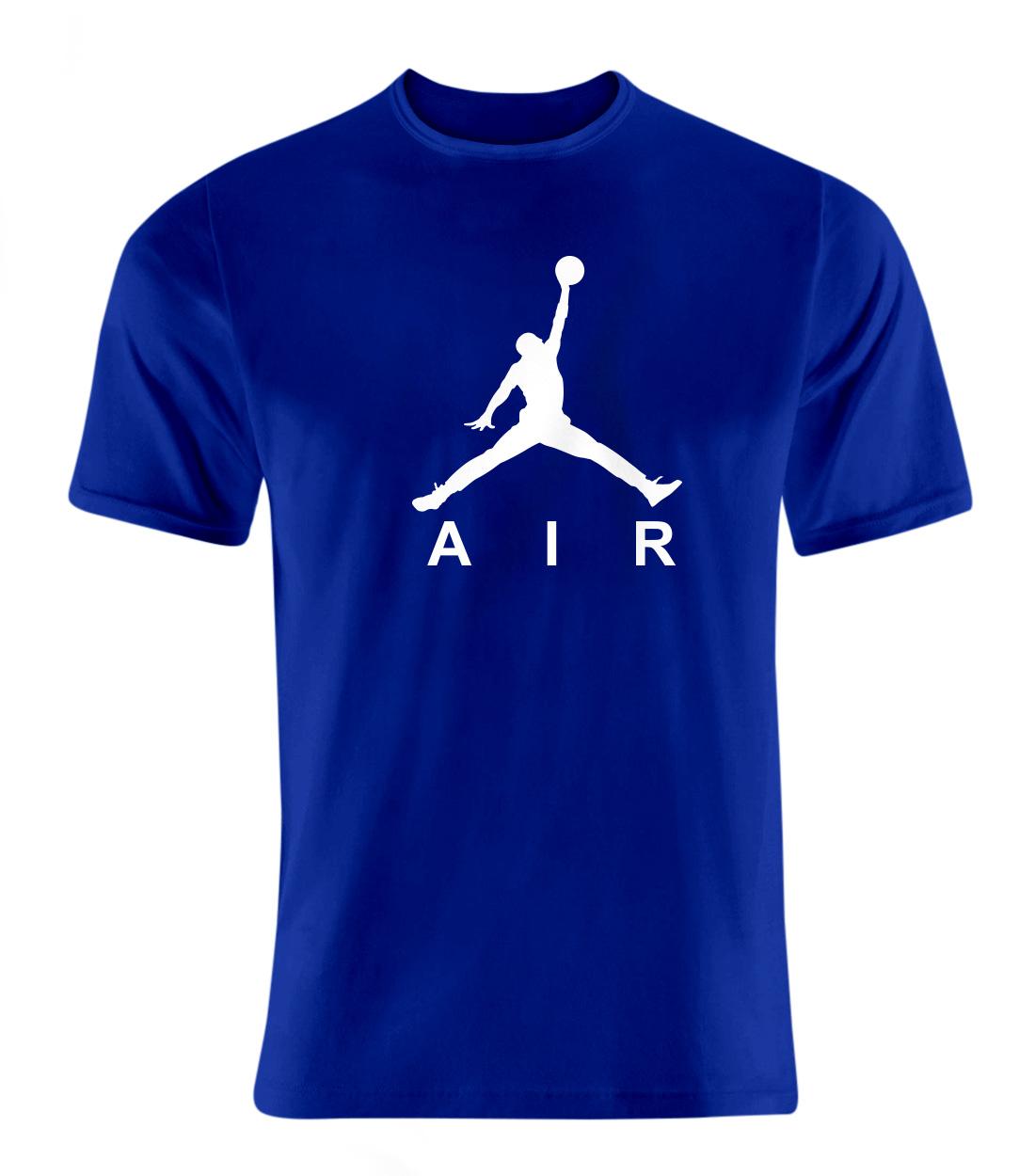 Air Jordan Tshirt (TSH-BLU-8-PLYR-JORDAN.AIR)