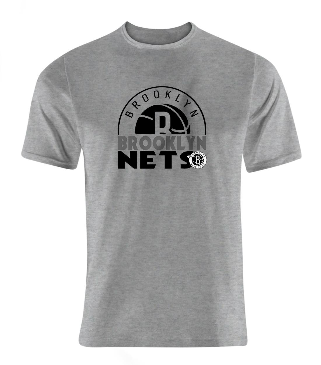 Brooklyn Nets Tshirt (TSH-GRY-NP-357-NBA-Brklyn.Nets)