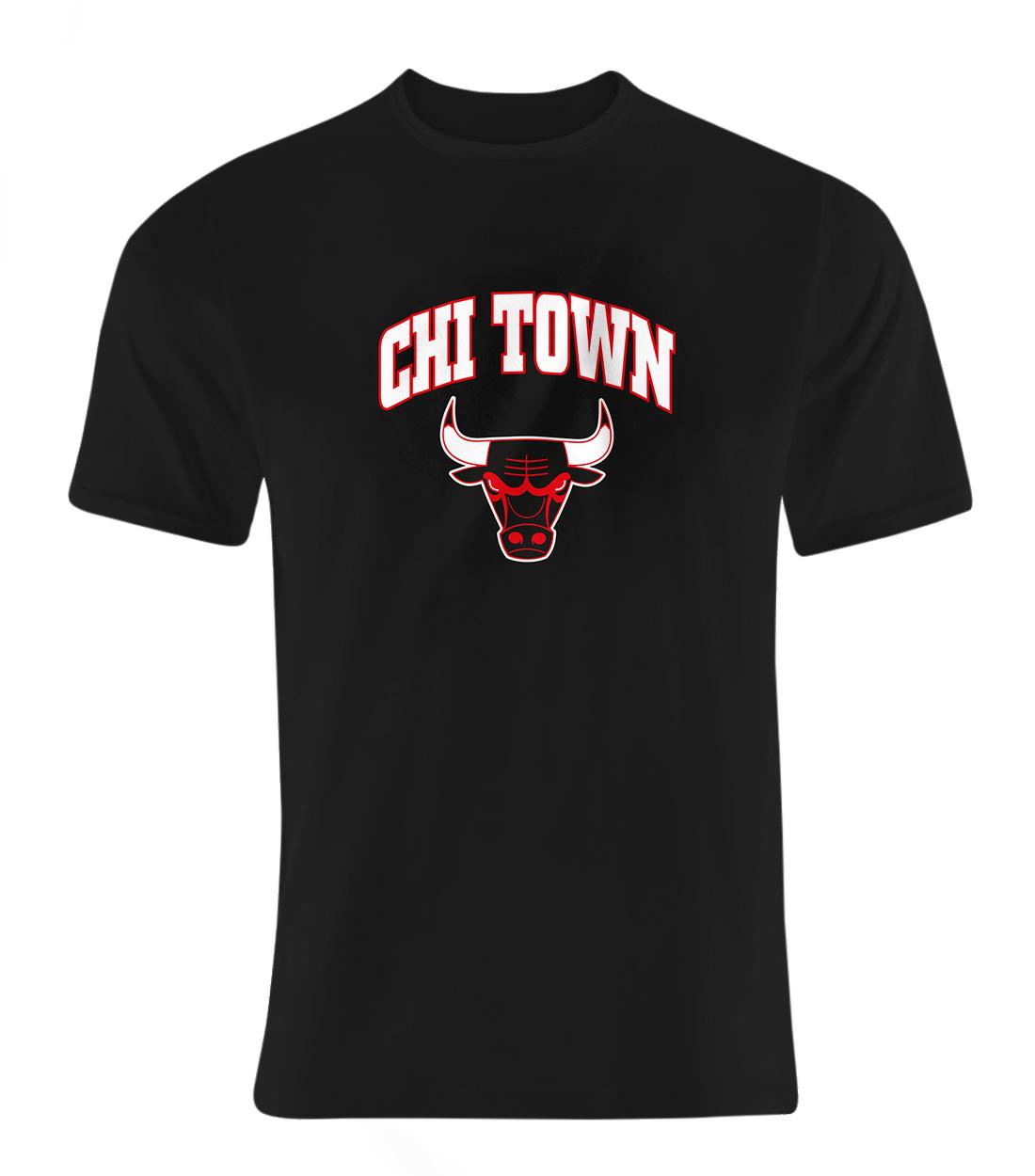 Chicago Bulls Chi Town Tshirt (TSH-BLC-NP-47-NBA-CHI-TOWN)
