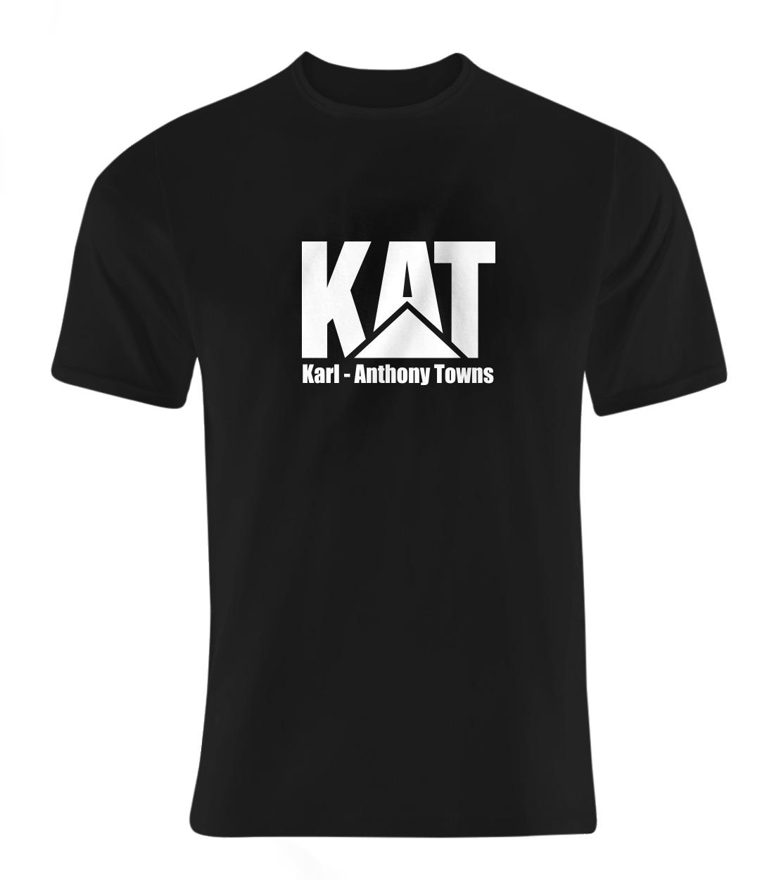 Karl Anthony Towns Tshirt (TSH-BLC-PLT-kat-logo-616)
