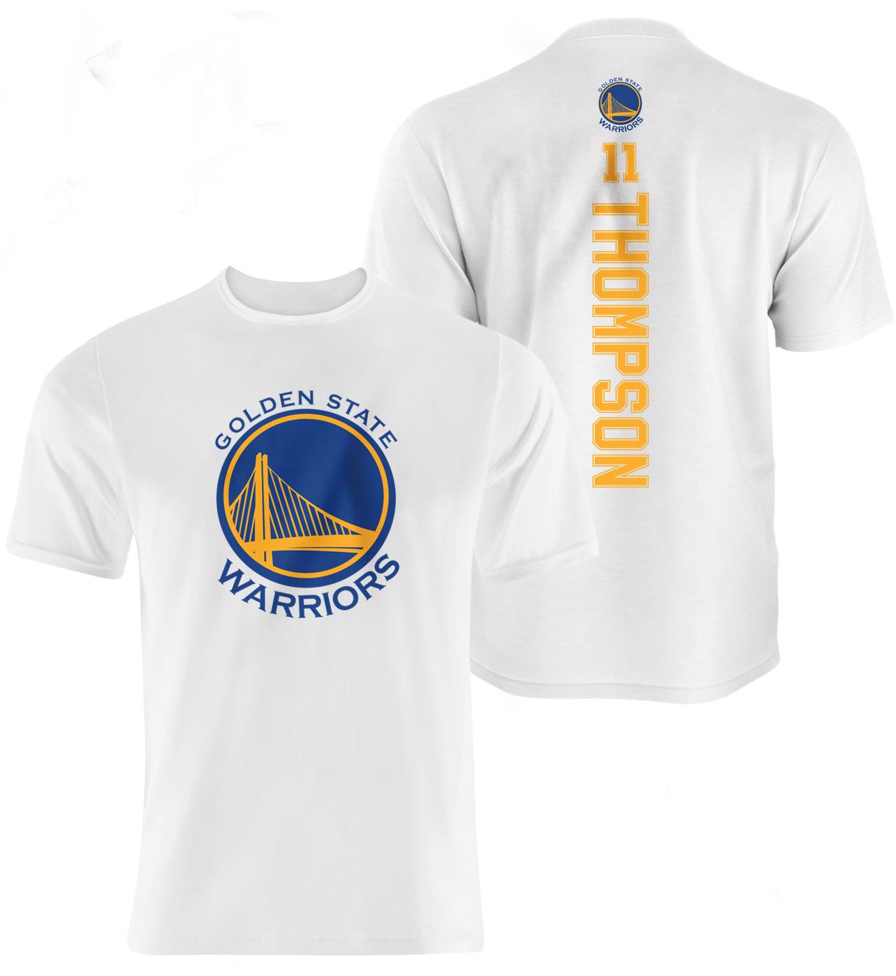 Klay Thompson Vertical Tshirt (TSH-WHT-NP-96-PLYR-GSW-THOMPSON.VER)