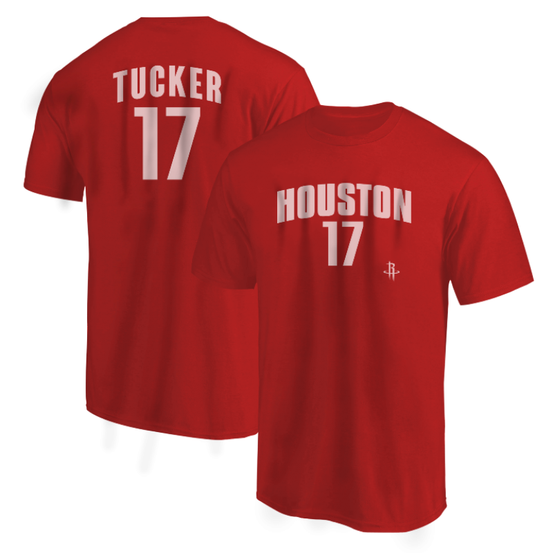 Houston Rockets PJ Tucker Tshirt (TSH-BLC-PLT-PJTucker17-628)