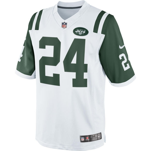 Darrelle Revis Forma (Nfl-frm-nyj-wht-Revis01)