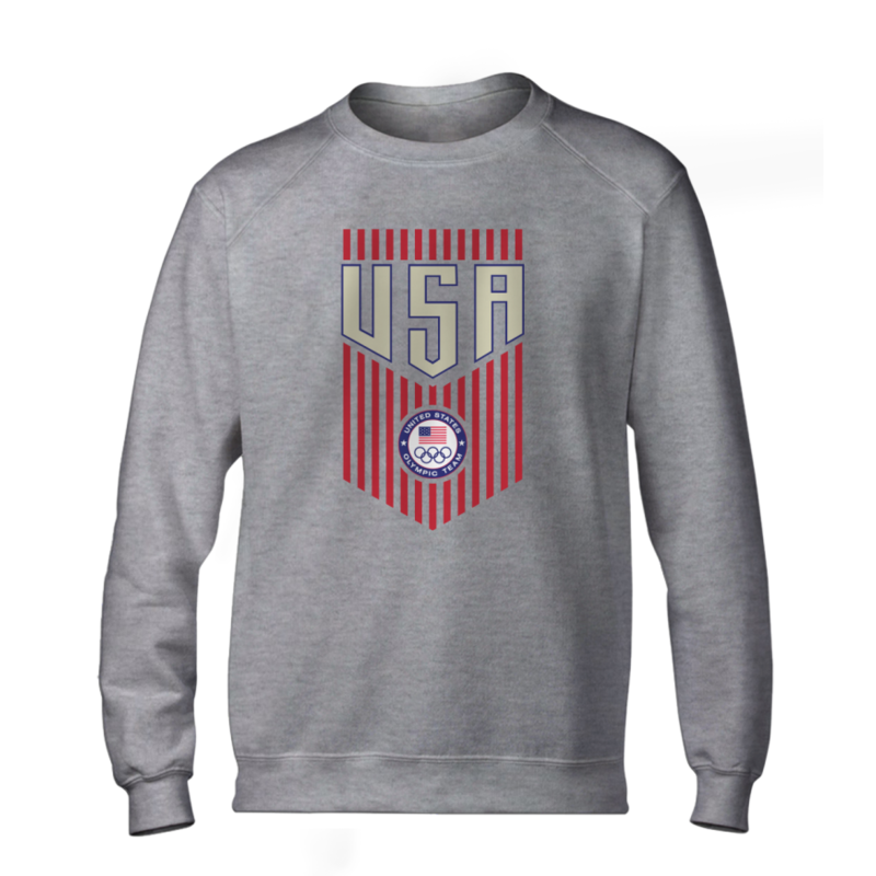 Olympic Team U.S.A. Basic (BSC-grey-242-NBA-USA-OLY.TEAM)