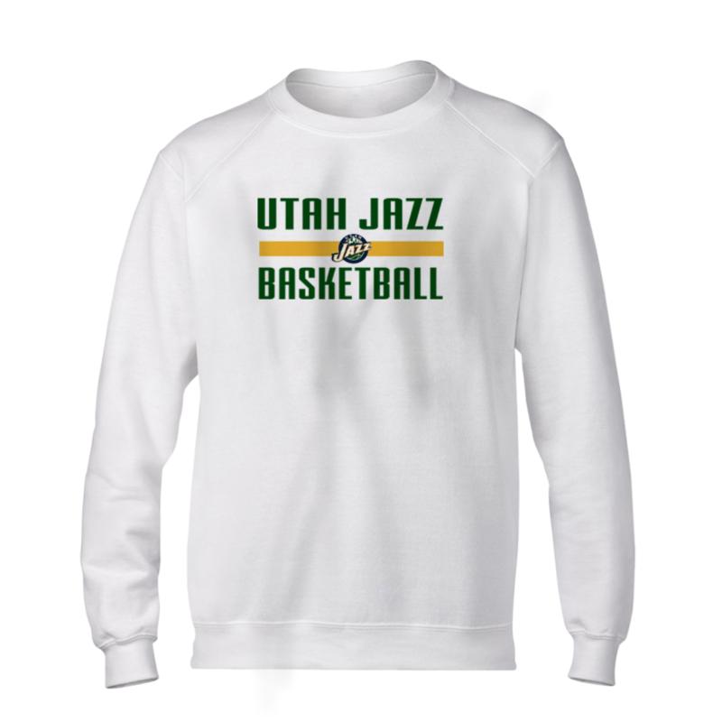 Utah Jazz Basketball Basic (BSC-WHT-NP-uth.bsktbll-540)