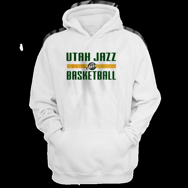 Utah Jazz Basketball Hoodie (HD-wht-NP-uth.bsktbll-540)