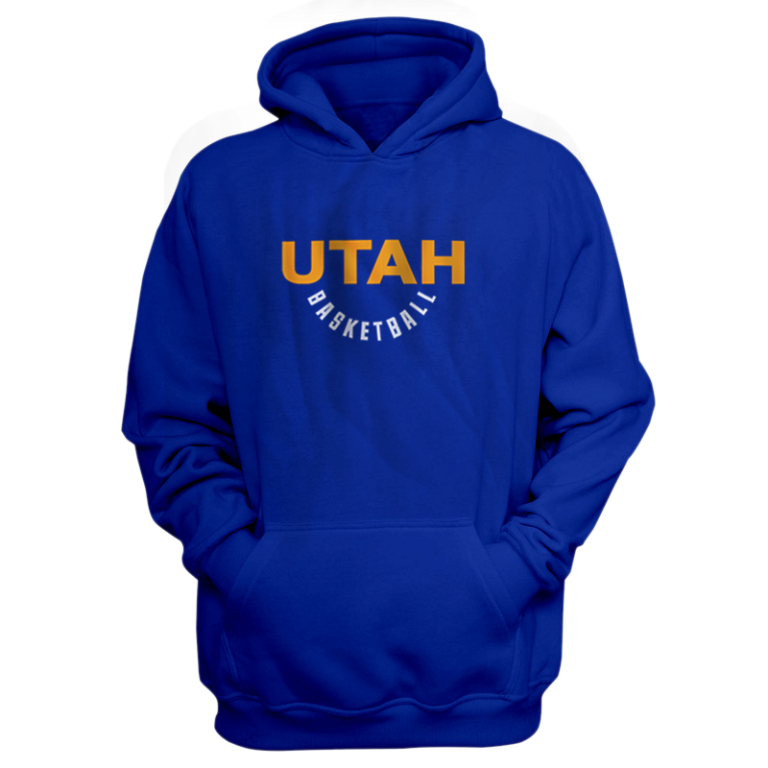 Utah Hoodie (HD-BLU-NP-282-NBA-UTH-WARM.UP)