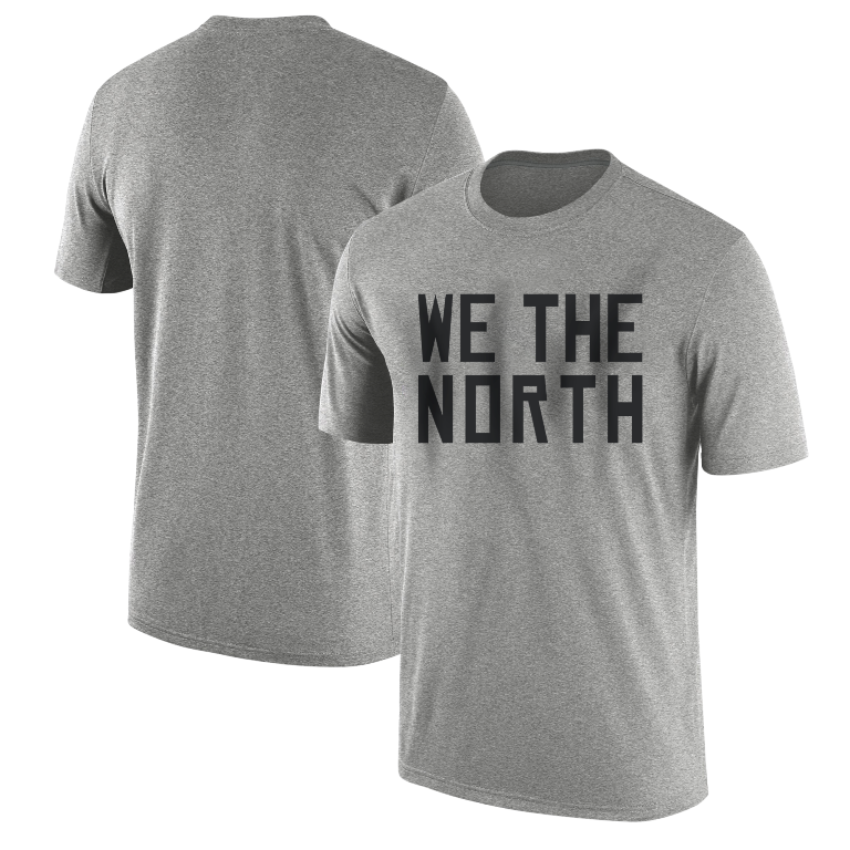 We The North Tshirt (TSH-GRY-SKR-north)