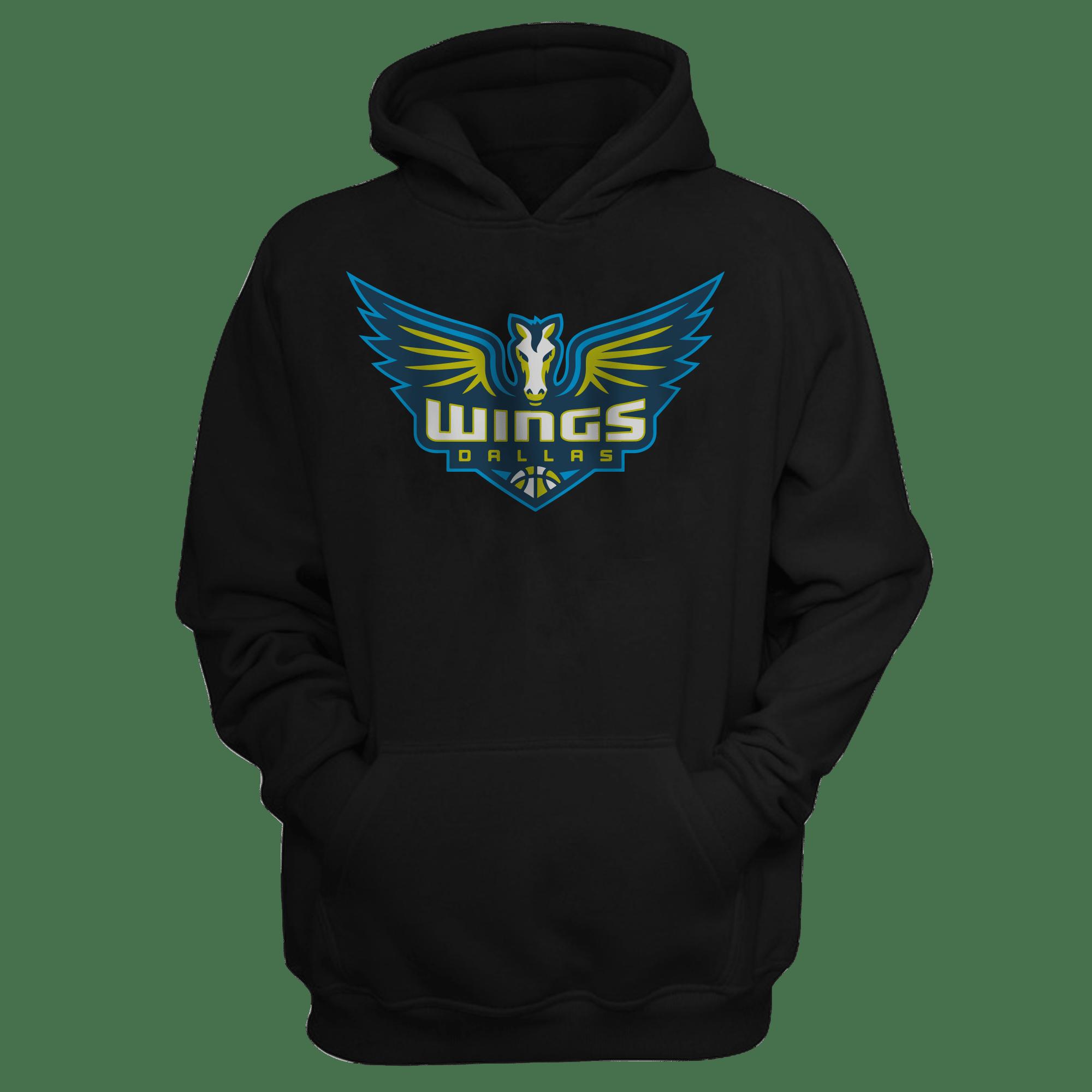 Dallas Wings Hoodie (HD-BLC-319-WNBA-D.Wings)