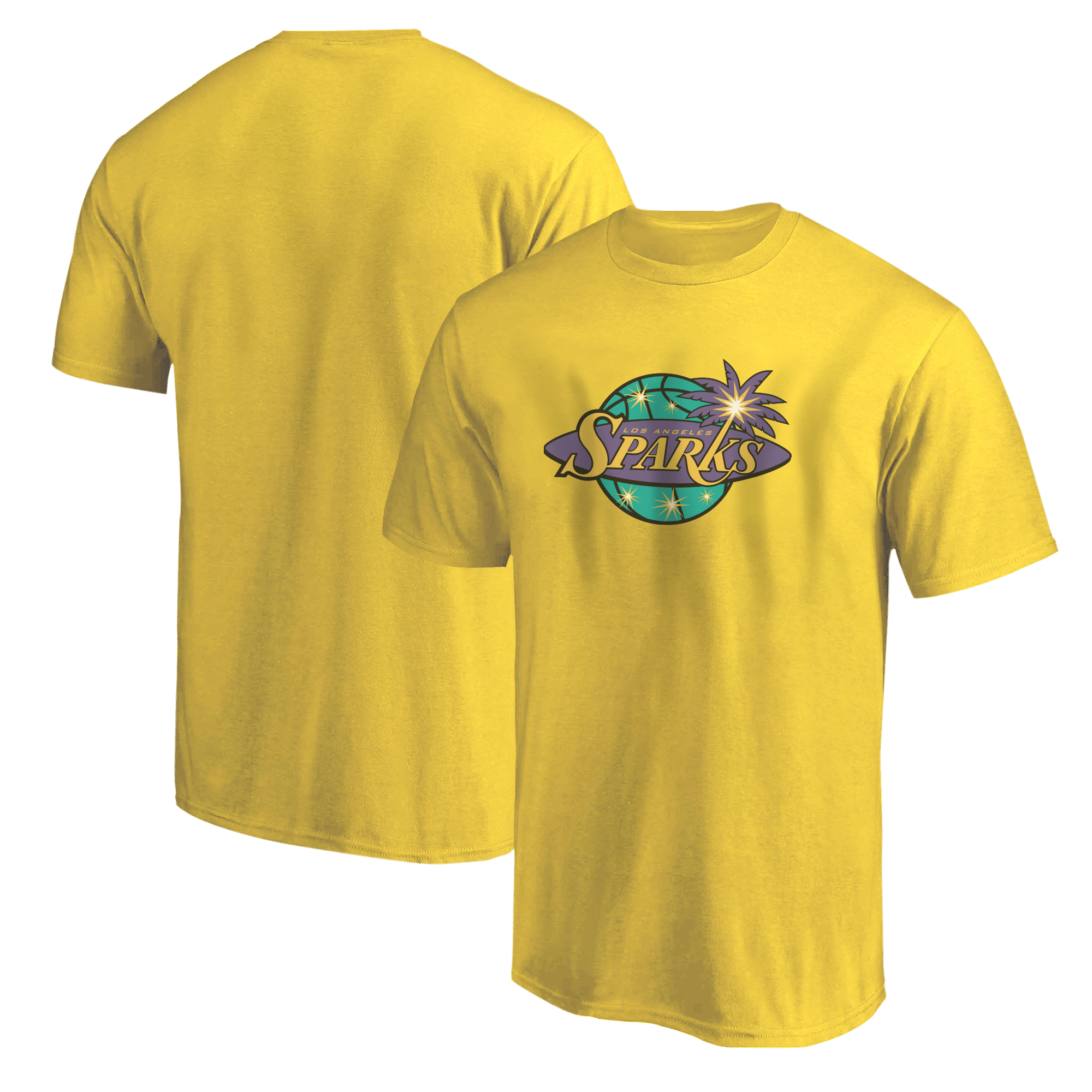 Los Angeles Sparks Tshirt (TSH-BLC-323-WNBA-L.A.Sparks)