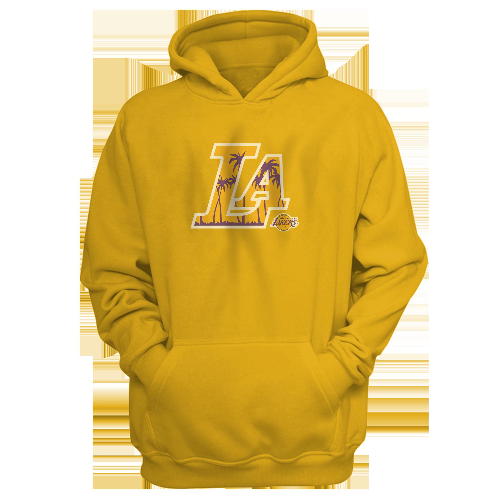L.A. Lakers  Hoodie (HD-YLW-NP-142-NBA-LAL-L.A.)