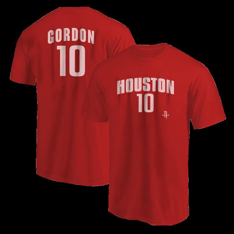 Eric Gordon Tshirt (TSH-RED-NP-Gordon10-610)