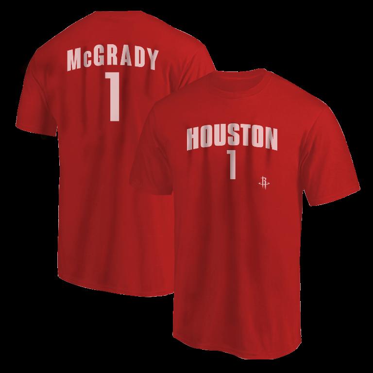 Tracy McGrady Tshirt (TSH-RED-NP- McGrady1-631)