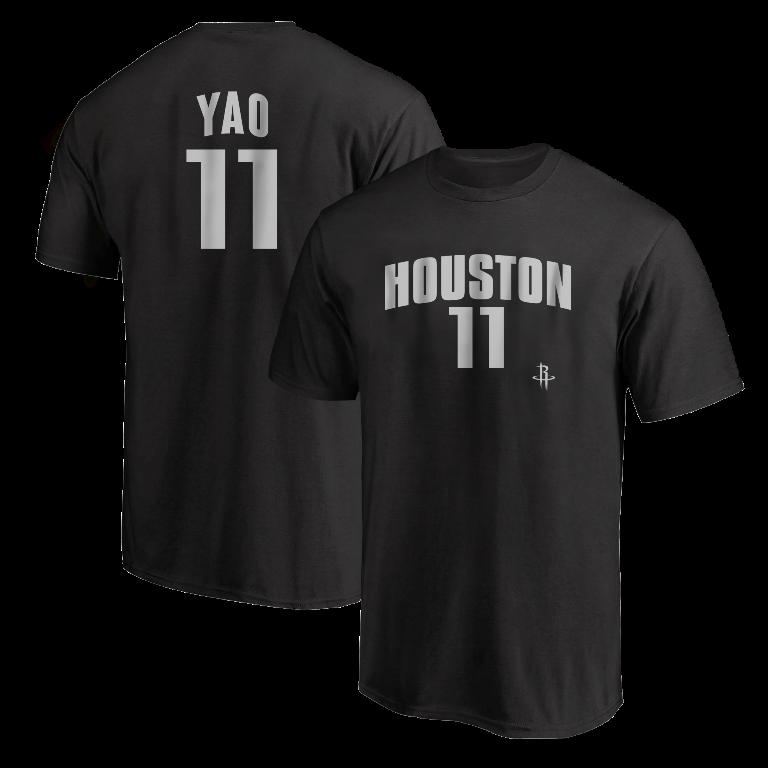 Yao Ming  Tshirt (TSH-BLC-NP-Ming11-634)
