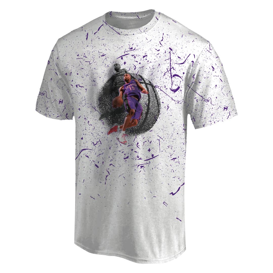 Vince Carter 3D Tshirt (TSH-3D-1011)