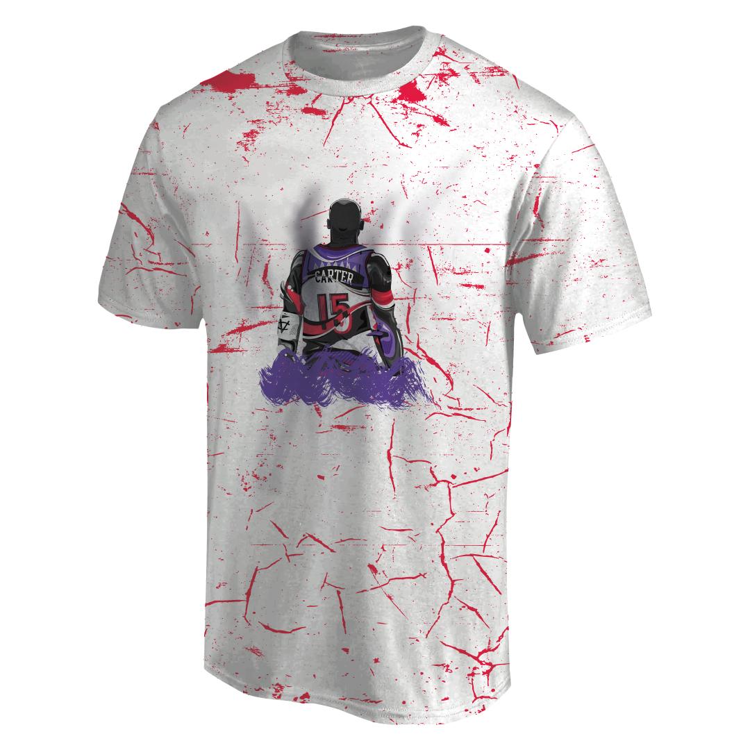 Vince Carter 3D Tshirt (TSH-3D-1012)