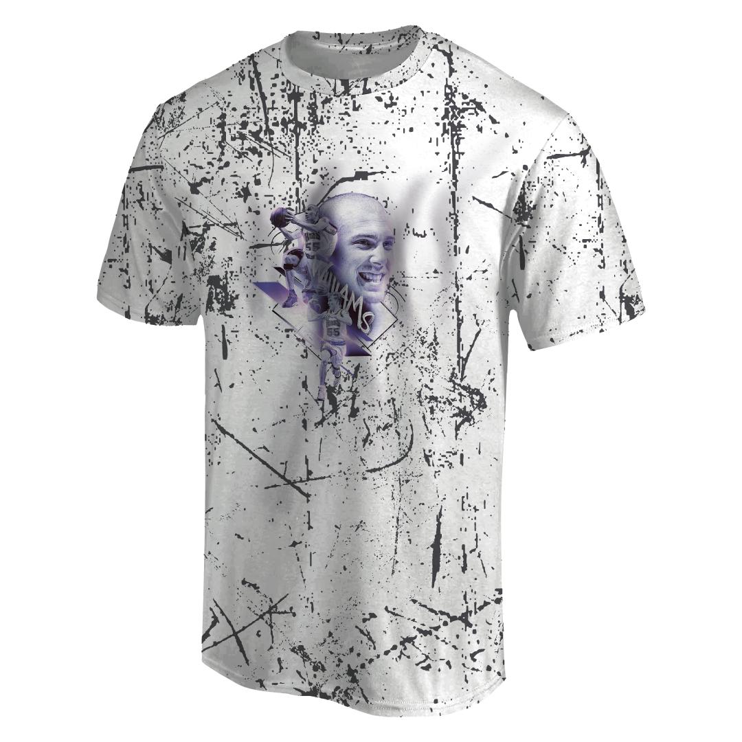 Jason Williams 3D Tshirt (TSH-3D-1013)