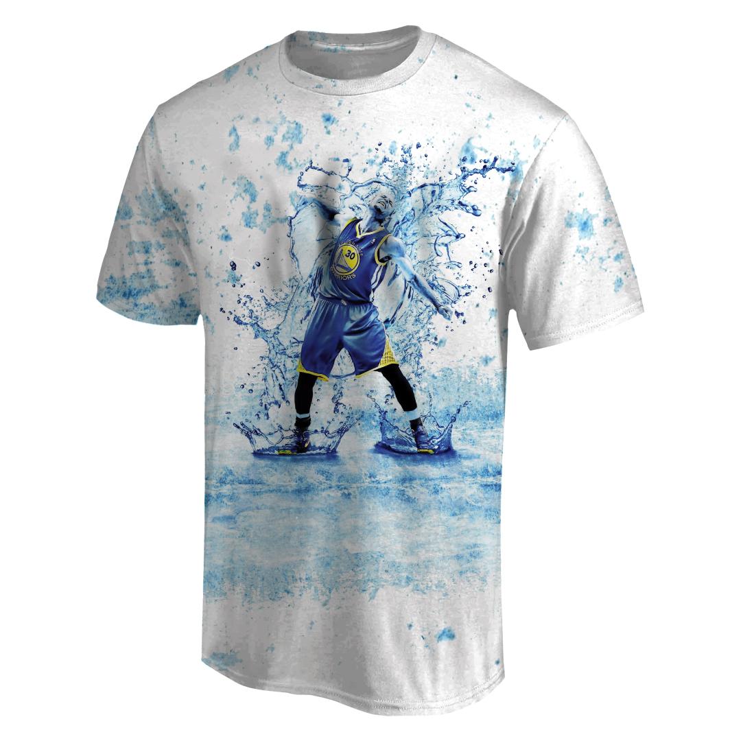 Stephen Curry 3D Tshirt (TSH-3D-1016)