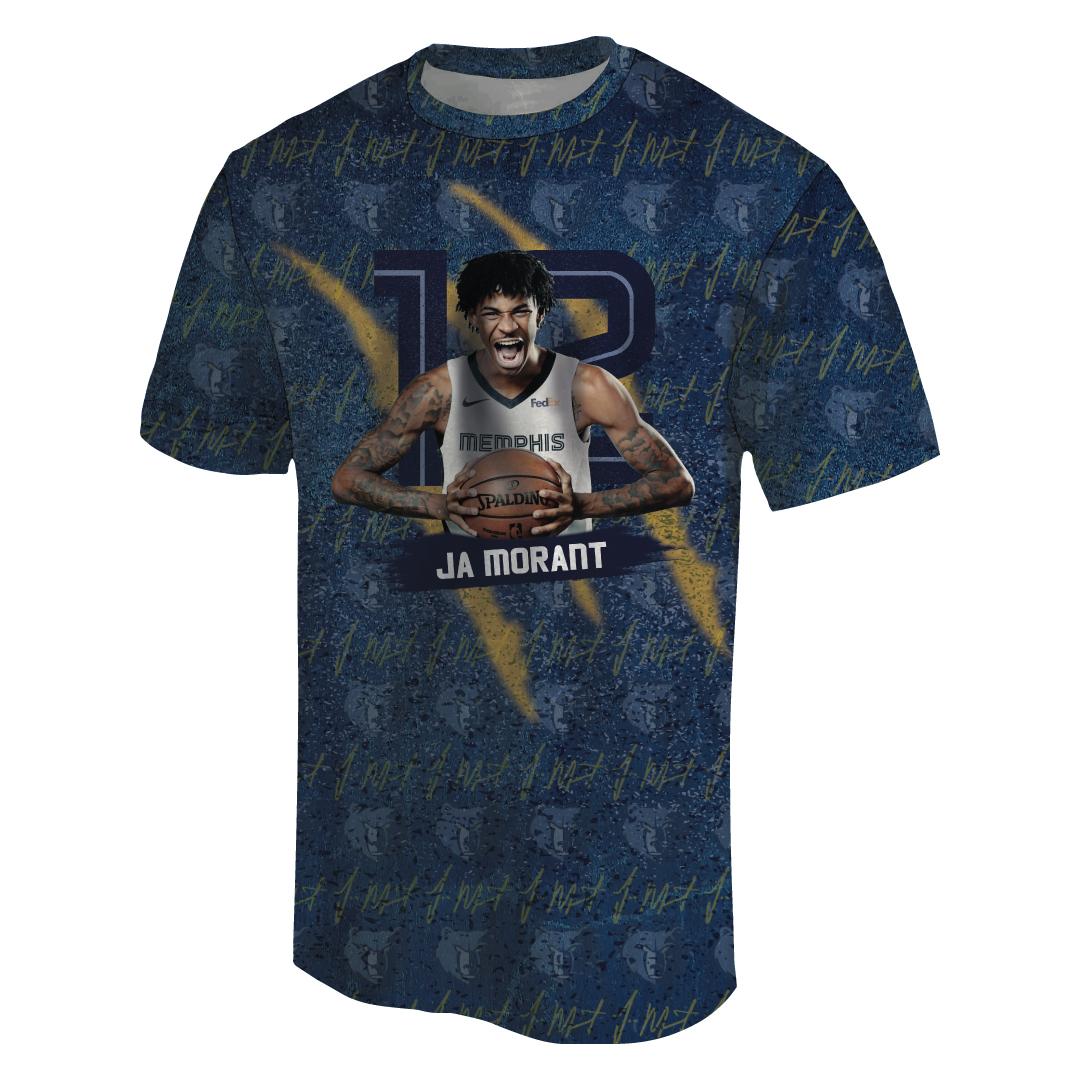 Ja Morant 3D Tshirt (TSH-3D-1052)