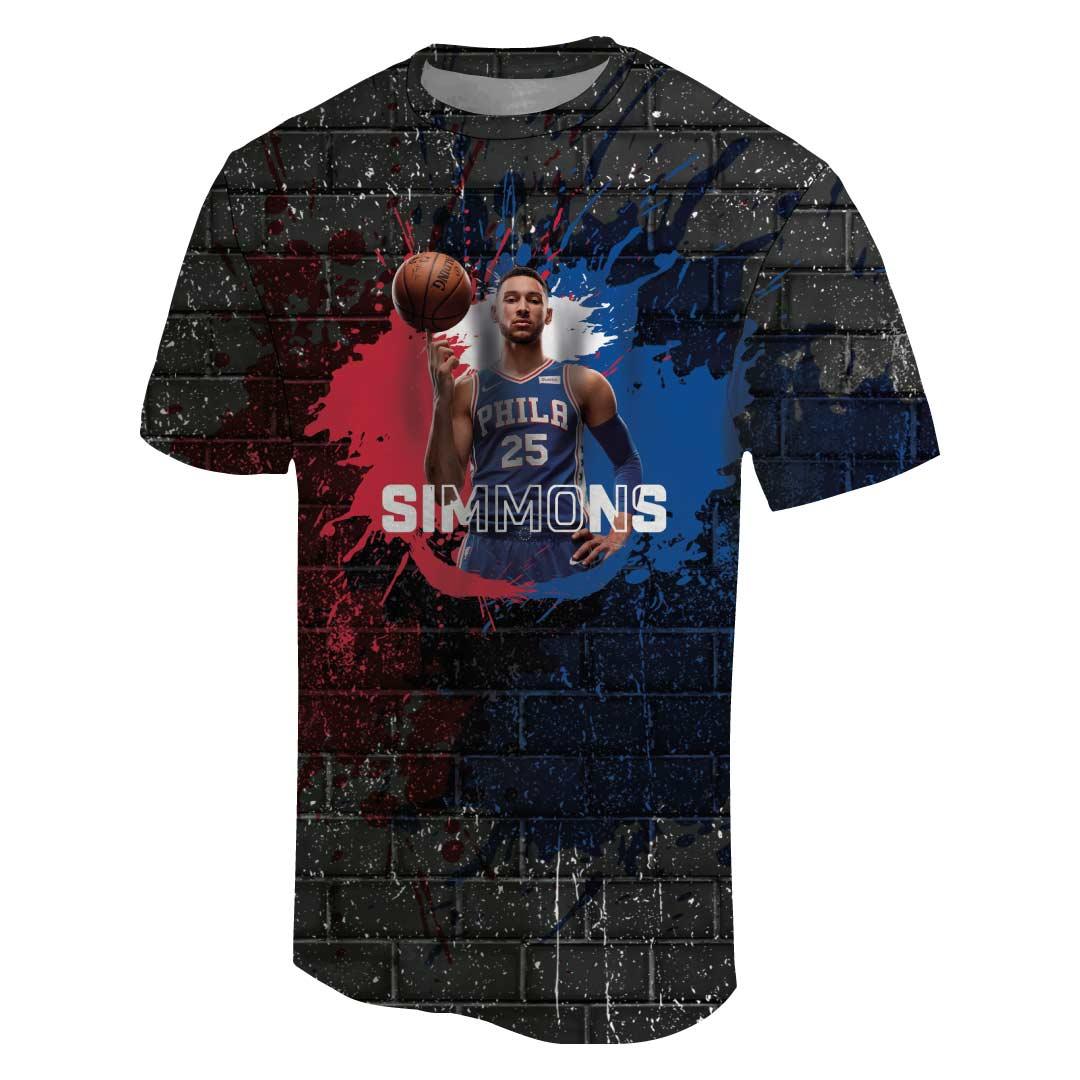 Ben Simmons 3D Tshirt (TSH-3D-1057)