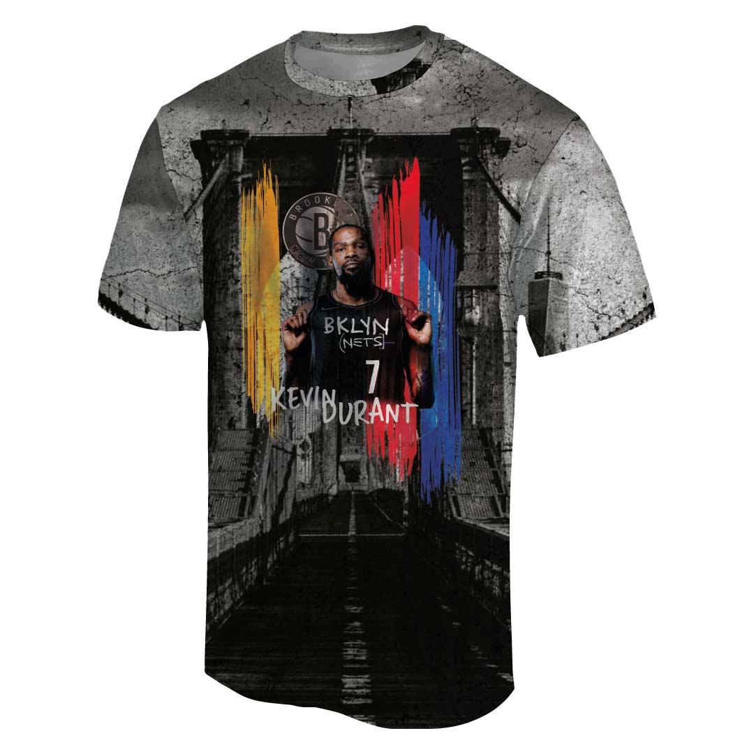 Kevin Durant 3D Tshirt (TSH-3D-1062)