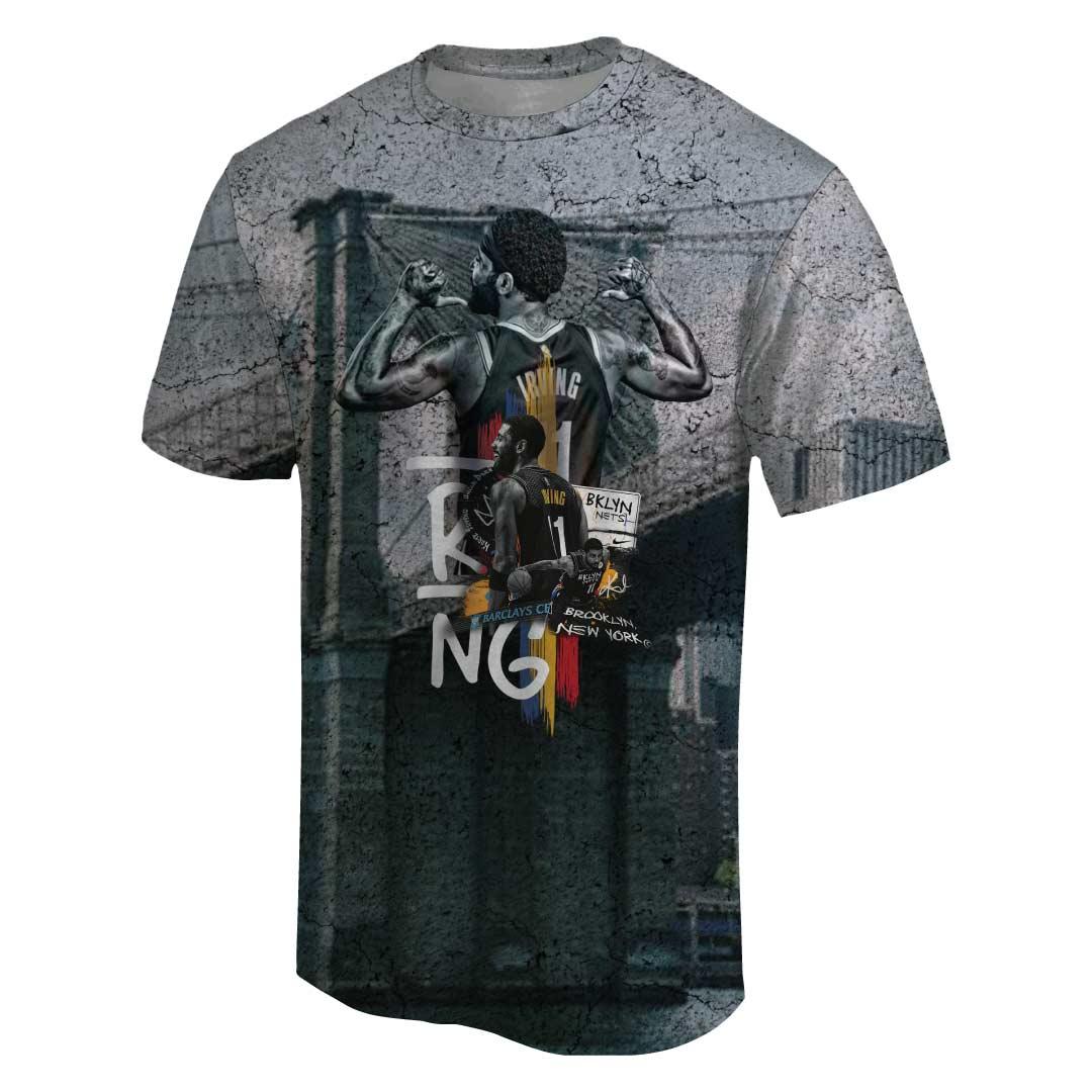 Kyrie Irving 3D Tshirt (TSH-3D-1065)