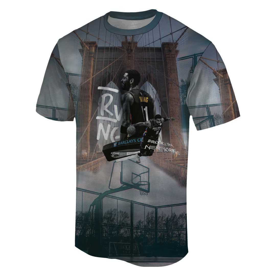 Kyrie Irving 3D Tshirt (TSH-3D-1067)
